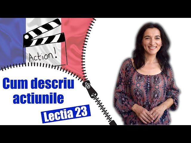 DÉCRIRE les actions en français | Leçon 23 | Leçon pratique + sous-titres | DÉBUTANTS