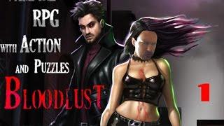 SEXY VAMPIRE RPG! #1 [Bloodlust Shadowhunter / Gameplay / Playthrough / Walkthrough]