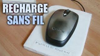 Charge sans fil : Incroyables Expériences [70] Chargeur de souris sans fil / wireless power mouse