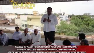 Karnataka Janata Paksha Gulbarga Minorities