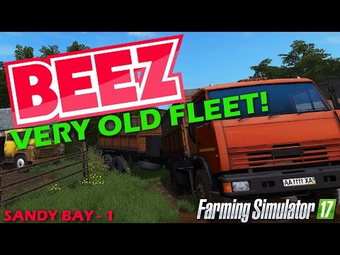 Farming Simulator 17 - Rusty starting fleet - Sandy bay Episode 1