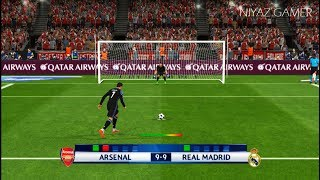 ARSENAL vs RAEL MADRID   Penalty Shootout   PES 2017 Gameplay