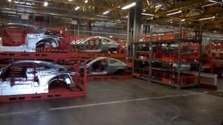 На заводе Mercedes в городе Бремен