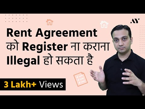 Registered Rent Agreement or Notarized in India?