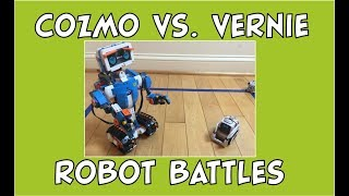 Cozmo the Robot | Robot Battle Wars: Cozmo vs. Vernie | Episode #57 | #cozmoments