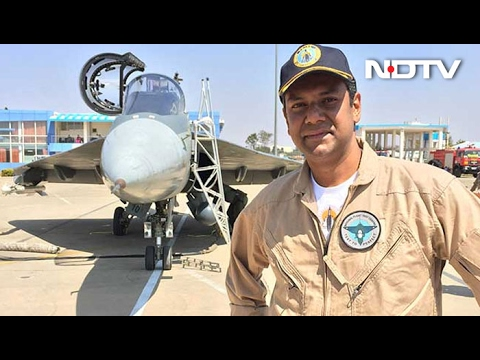 Watch: NDTV's Vishnu Som Is World's First Reporter To Fly On The Tejas
