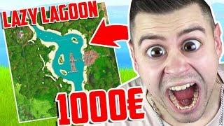 WER zuletzt LAZY LAGOON verlässt bekommt 1000€ in Fortnite ..