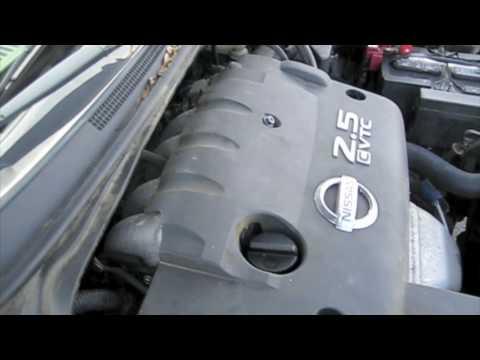 Attempt to Start Nissan Altima 25 S w/ Blown Engine After Sitting 8