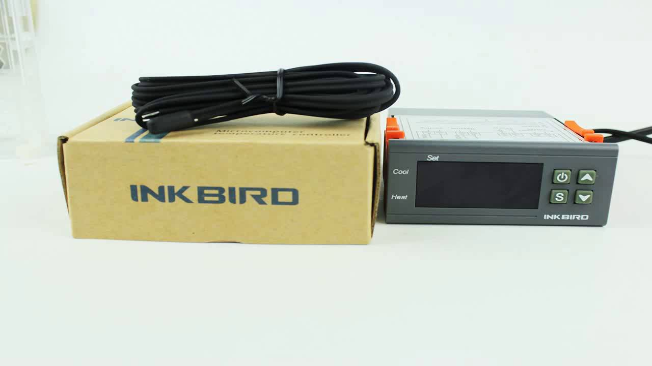 Inkbird All Purpose Digital Temperature Controller Fahrenheit The Stc1000 Is A With Sensor That Centigrade Th Youtube