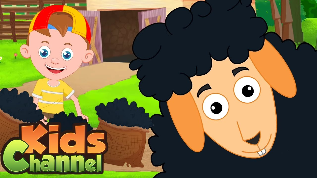 Baa Baa Black Sheep Nursery Rhymes And Kids Songs | Cartoon Videos  from Kids Channel