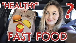 Fast Food Hacks Healthy Macro