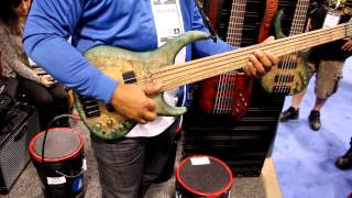 Andrew Gouche @ the MTD Booth. 2013 NAMM