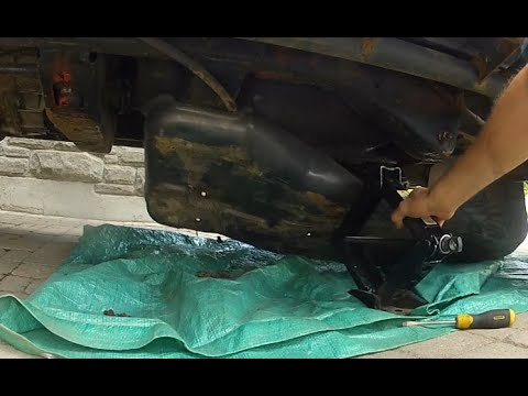 How to Remove Gas Tank Skid Plate - Hummer H3 Gas Tank Protector - YouTubeYouTube