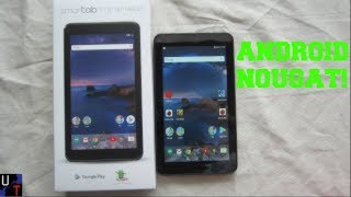 "Walmart's SmarTab 7"" Android 7.1 Quad-core 16GB Tablet Unboxing & 1st Impressions!"
