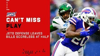 Jets D Leaves Buffalo Scoreless at Half