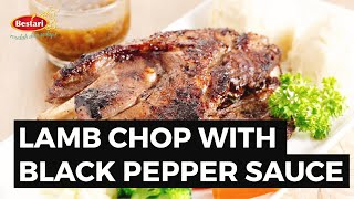 #ResipiBestari 07: Lamb Chop with Black Pepper Sauce