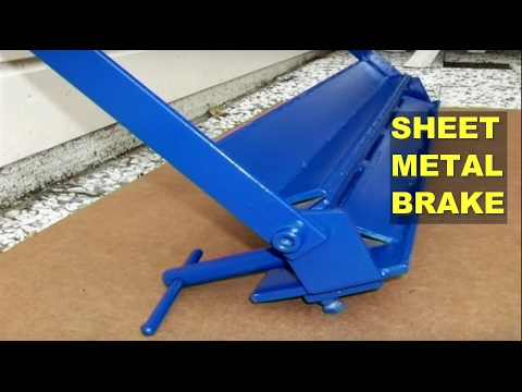 DIY Sheet Metal Brake (Bender)