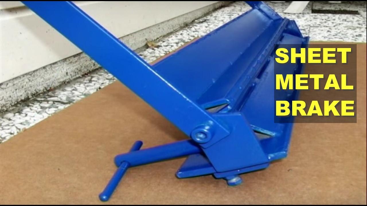 DIY Sheet Metal Brake (Bender) - YouTube