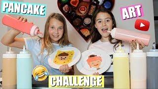 PANCAKE ART CHALLENGE | RAAD DE YOUTUBER! (English subtitles)
