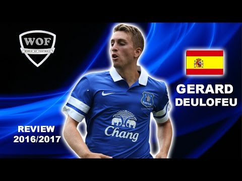 GERARD DEULOFEU | Everton | Goals, Skills, Assists | 2016/2017  (HD)