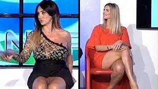 UPSKIRT Marika Fruscio e Monica Castellini - [Casa Napoli - 23 Ottobre 2018]