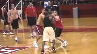 Lakers Practice Fight!!