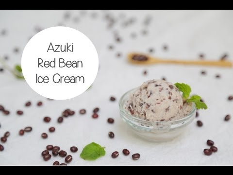 Red Bean (Azuki) Ice Cream Recipe | 4 Simple Ingredients