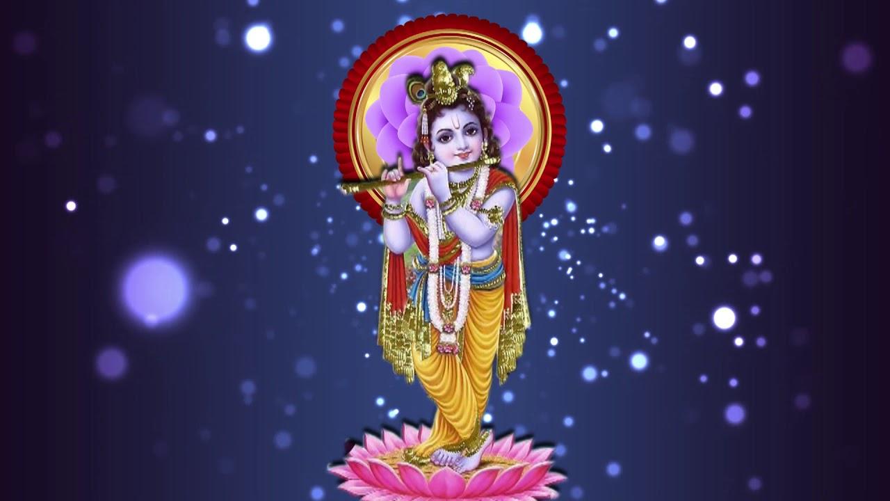 God Krishna Background Lord Shri Krishna Animation Background