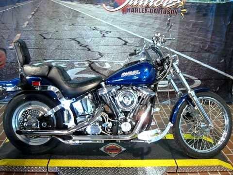 1992 Harley Davidson Softail Custom FXSTC Dark Sapphire