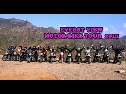 Motor cycle tour in nepal