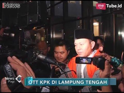 KPK Resmi Tetapkan Tersangka dan Tahan Bupati Lampung Tengah  - iNews Pagi 16/02