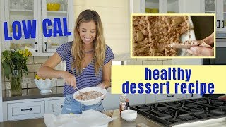HEALTHY LOW CAL DESSERT RECIPE | Chocolate Cheesecake Yogurt Brittle