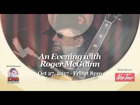 Roger McGuinn at The Clark Center