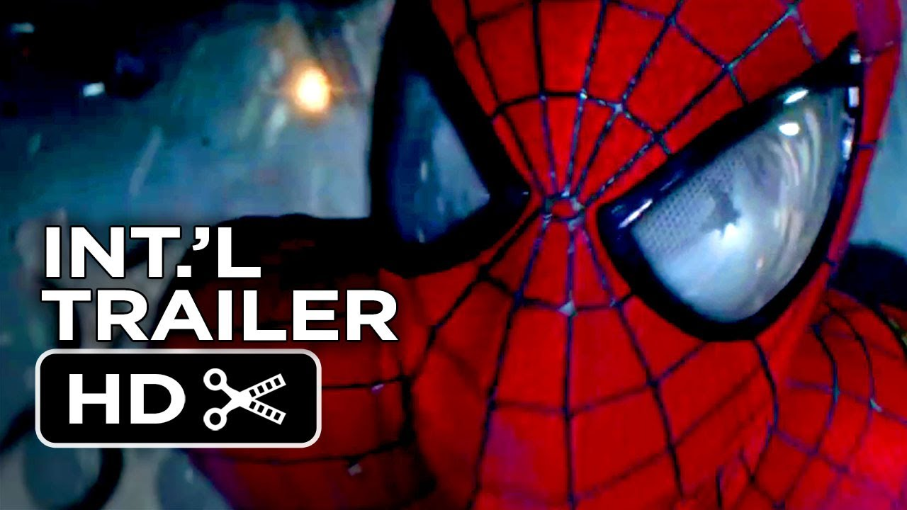 The Amazing Spider Man 2 Official International Trailer Rise Of Electro 2014 Movie Hd Youtube
