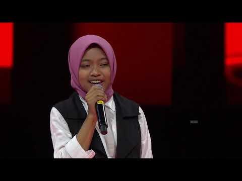 Nyanyi Qasidah di The Voice Kids Indonesia.. Peserta asal jombang dipilih AgnezMo.