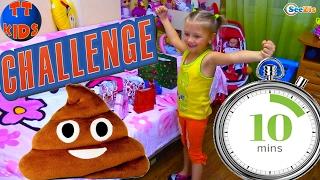 Челлендж 10 сюрпризов за 10 минут Попробуй Видео для детей