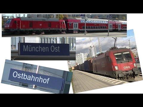 Der Bahnhof München Ost/Ostbahnhof
