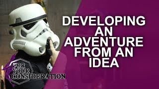 Developing a RPG Adventure from an Idea - FYC