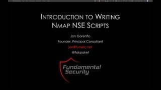 Introduction to Writing Nmap NSE Scripts