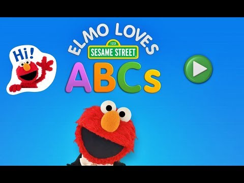 Elmo Loves ABCs  / Learn LETTERS With Elmo/ Fun Game For Kids
