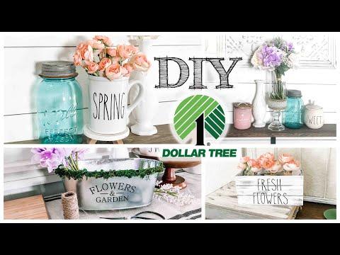 DIY Dollar Tree Spring Decor | 4 PROJECTS!