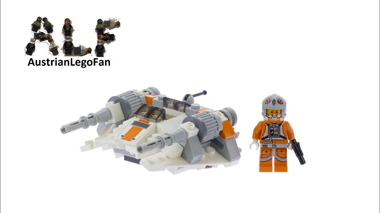 Lego Star Wars 75074 Snowspeeder Microfighters Series 2 ...