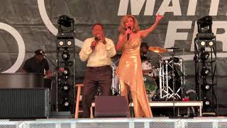 Marilyn McCoo & Billy Davis Jr YOU DON'T HAVE TO BE A STAR (TO BE IN MY SHOW) Live September 2019