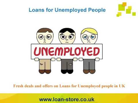 Unemployed Loans Get Money without Job