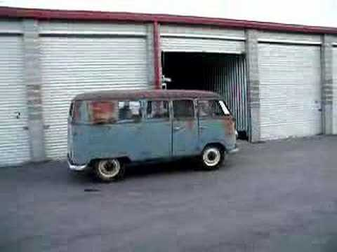 1954 Barndoor Volkswagen Type II Bus - YouTube