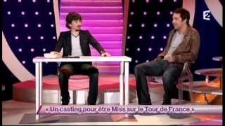 Arnaud Tsamere [71] et Ben [6] Un casting pour être Miss sur le Tour de France - ONDAR