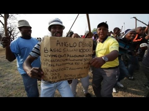 Anglo American halts platinum work in S.Africa