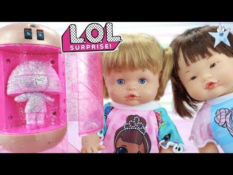 Ani y Ona juegan con el PURPURINIZADOR de las L.O.L Under Wraps