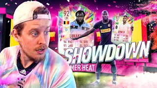 WHO WILL WIN?! 92 SUMMER HEAT LUKAKU + DANILO PLAYER REVIEW! FIFA 20 Ultimate Team