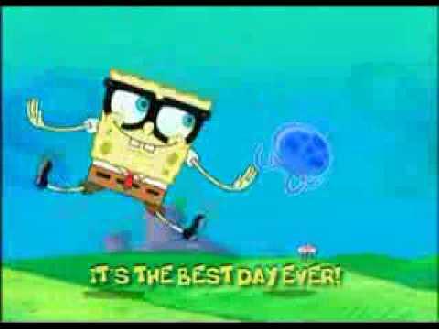 Spongebob-Best Day Ever(with lyrics)